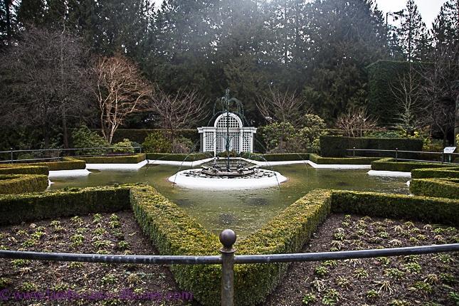 butchart gardens on vancouver island, Italian garden