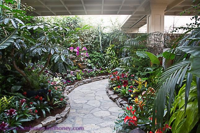 Spring, Butchart Gardens on Vancouver Island