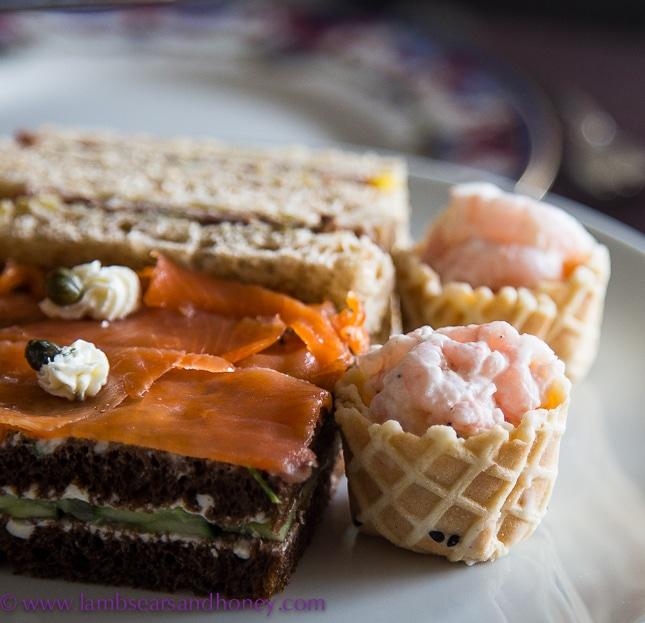 fairmont empress high tea savoury selection