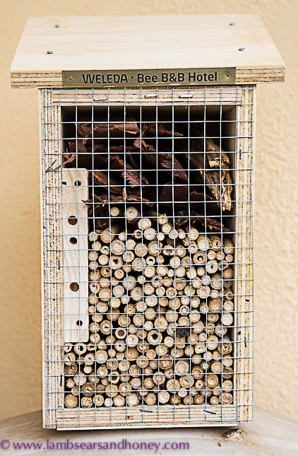 In My Kitchen April 2017 - Weleda bee hotel