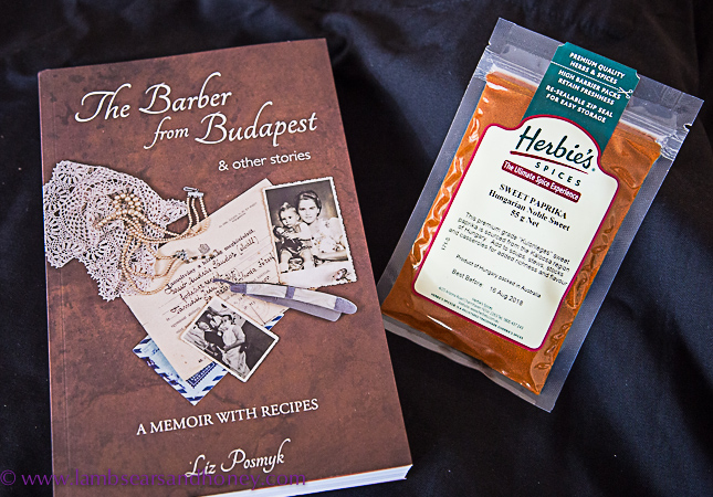 in my kitchen april 2017 - the barber of budapest book