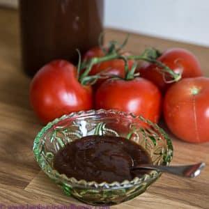 Fresh, home-made tomato sauce