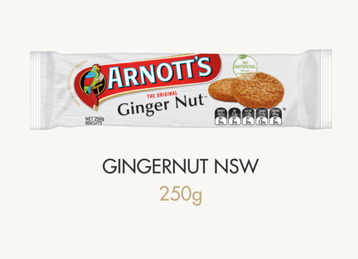 NSW ginger nut biscuits