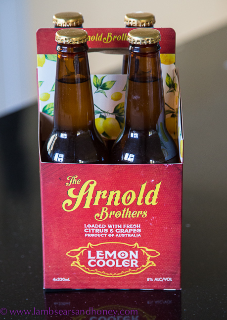 In My Kitchen - arnold brothers lemon cooler