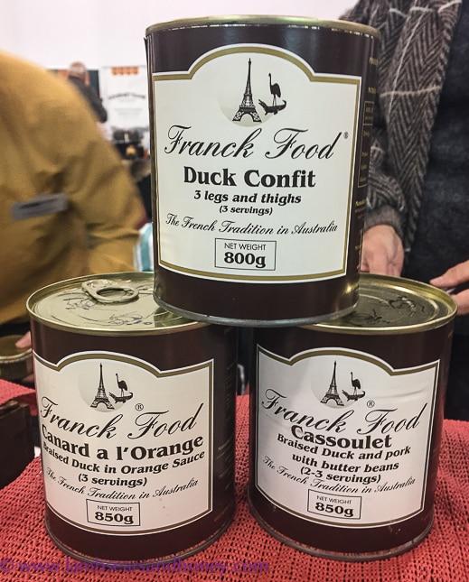 franck foods duck confit