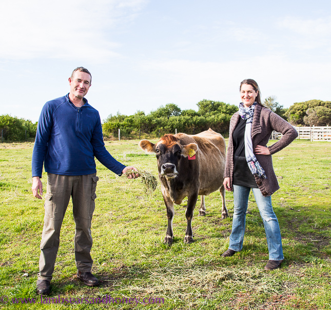 Julie & David Hinchcliffe, Robe Dairy