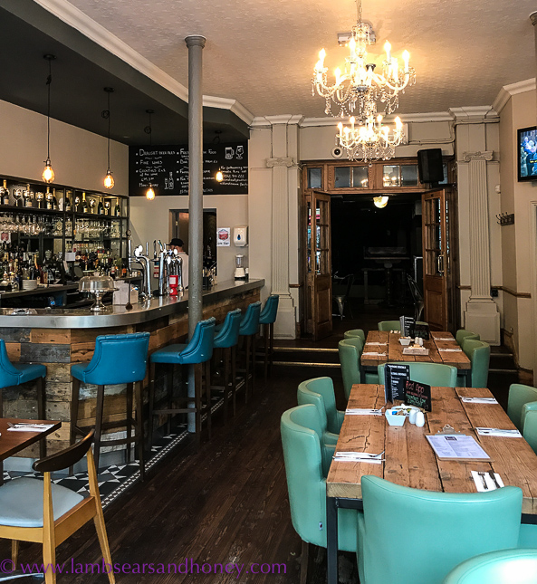 Bar, dining room, The Water Rats