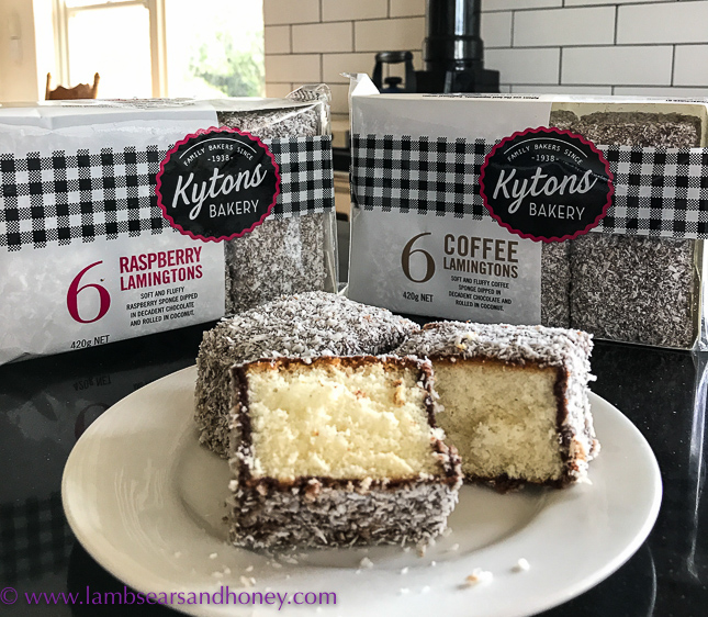 In My Kitchen Kyton's lamingtons