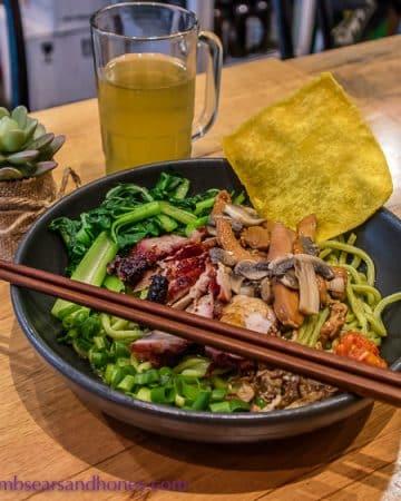 bakmi lim noodle project Handmade noodles