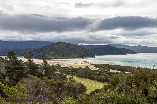 Threatening rain Wilsons Abel Tasman