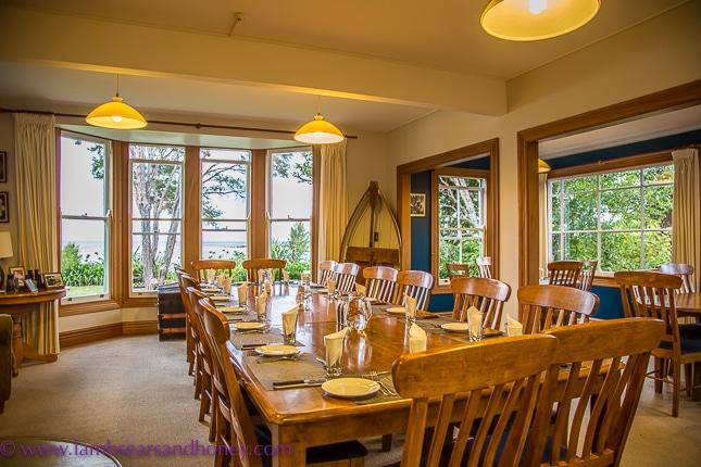 Dining room, Meadowbank - Wilsons Abel Tasman