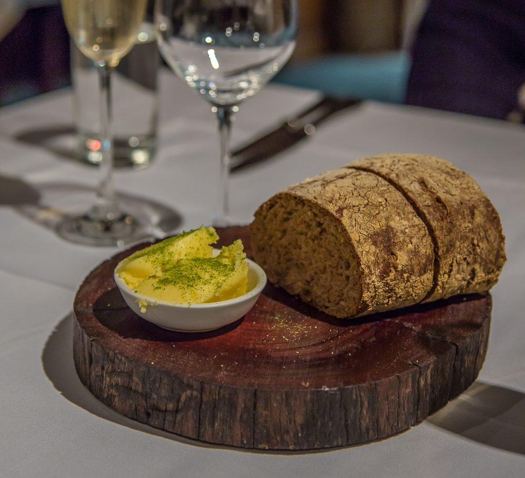 Limestone Coast fine dining, Gather house made bread