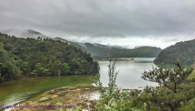 The fabulous views at Wilsons Abel Tasman