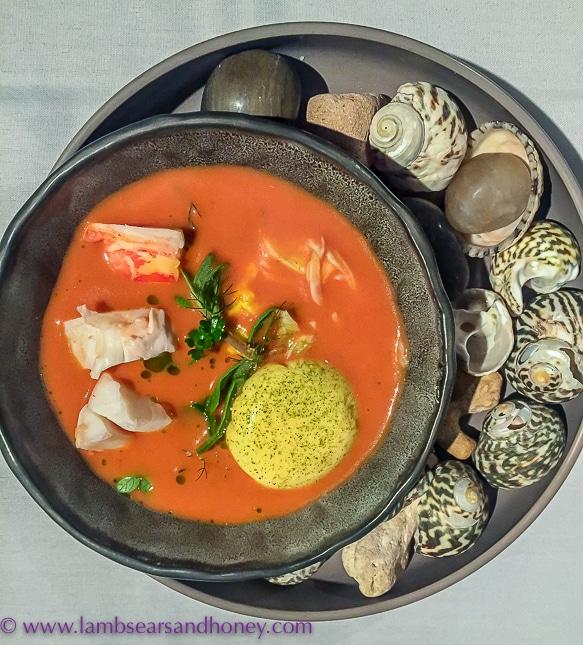 gather crayfish bisque Limestone Coast fine dining
