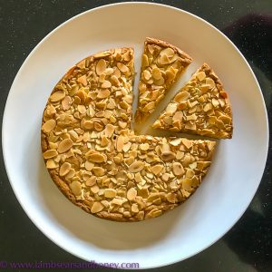 weekend baking almond and orange zest dense butter cake