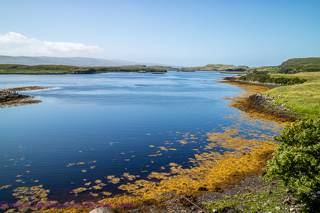 dunvegan window view, discover scotland
