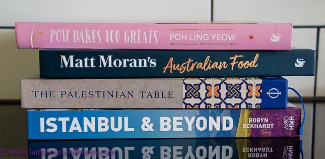 cookbook crush pile