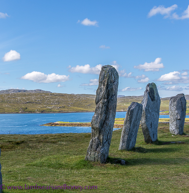 Outer Hebrides, standing stones