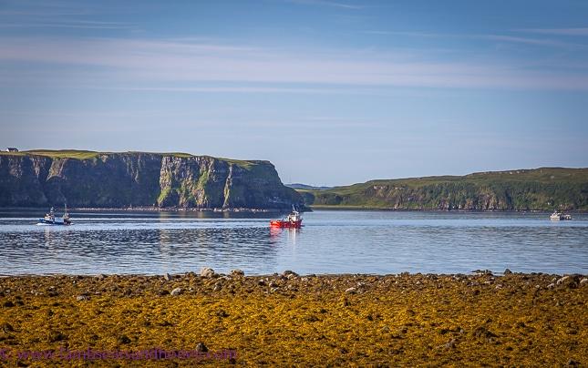 waiting at Uig, discover Scotland
