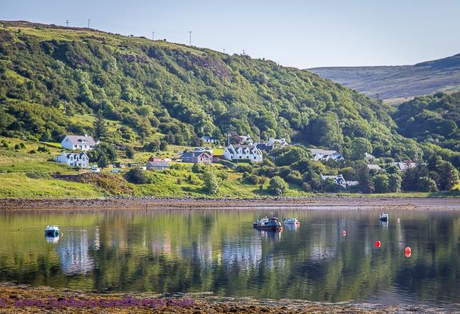 harbour, Uig, discover scotland