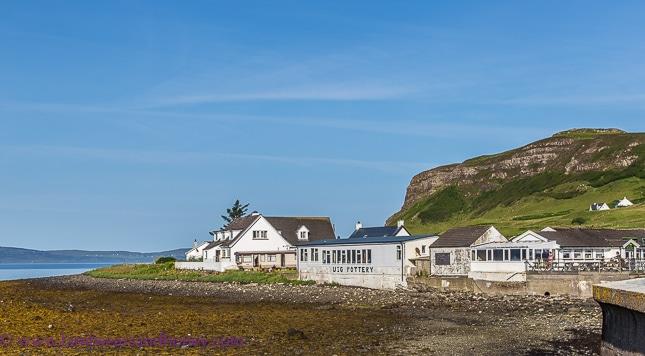 discover scotland, houses uig