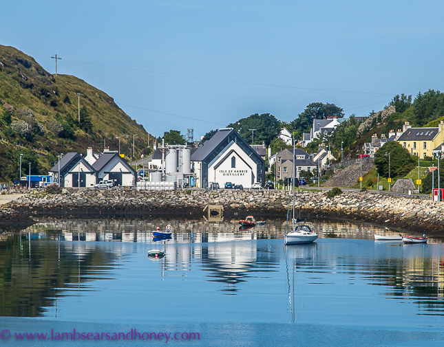 Outer Hebrides - village of tarbert