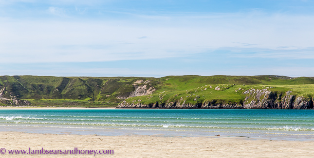 outer hebrides, ardroil beach