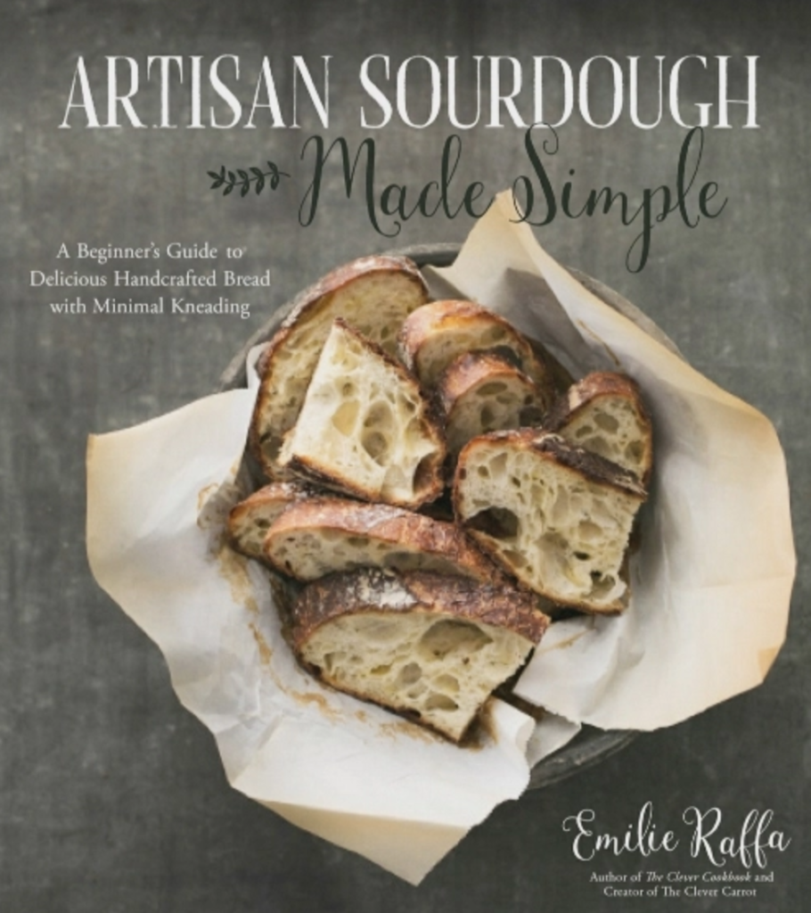 Cookbook love for artisan sourdough made simple