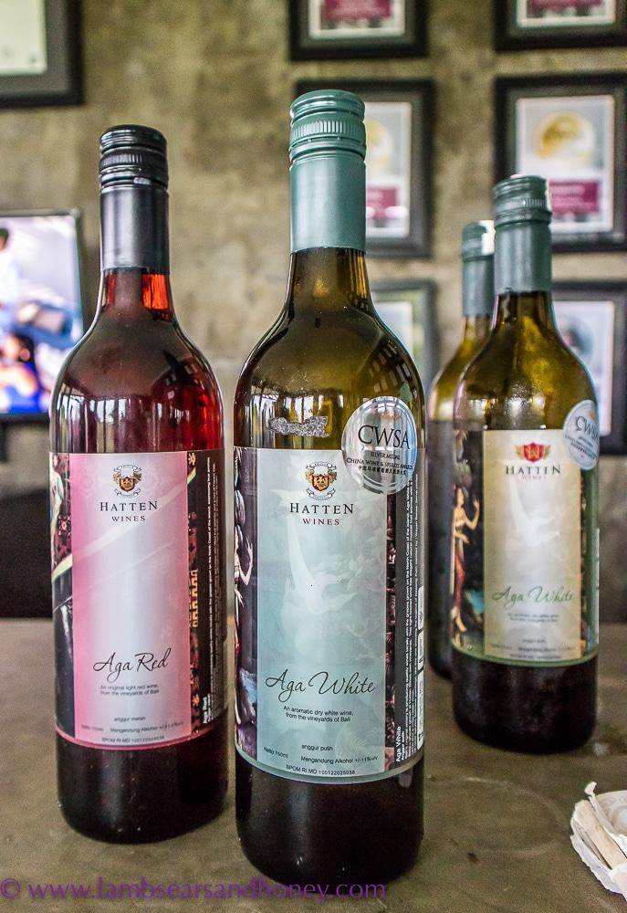 hatten wine - home of Balinese wines