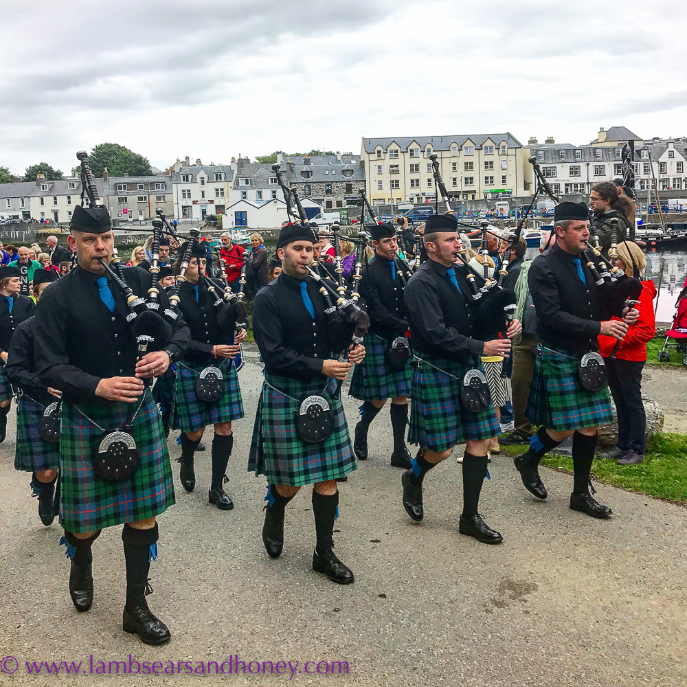 pipe band of stornoway