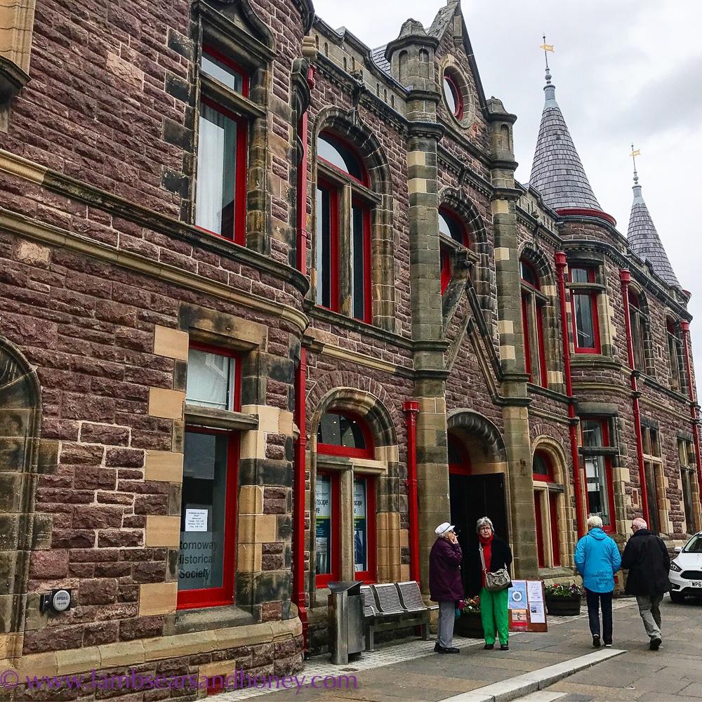 Stornoway old town hall