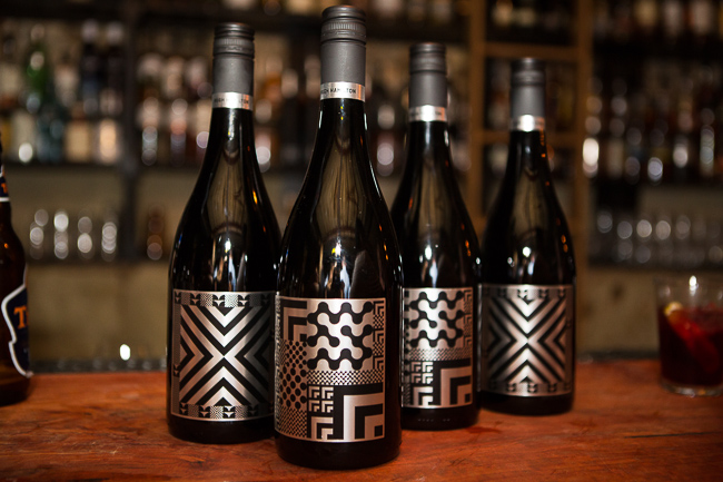 hugh hamilton wines dark arts series, labelling