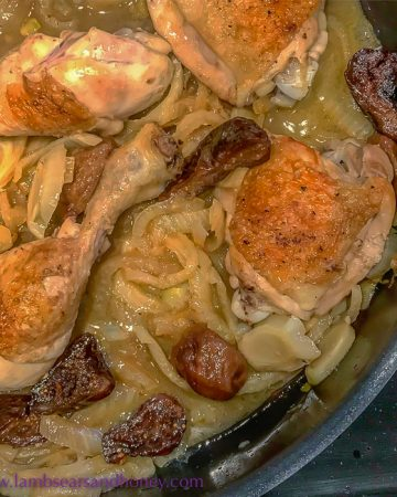 Recipe - Chicken with Fennel and Sticky Figs