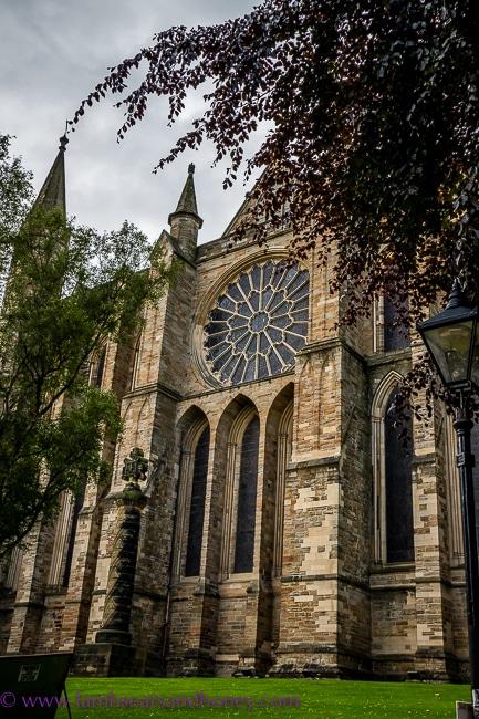 Window, Durham Cathedral, near Yorkshire