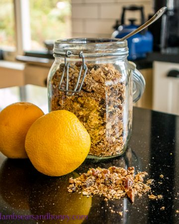 recipe for citrus granola