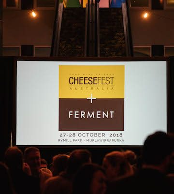 LAUNCH Cheesefest+Ferment 2018