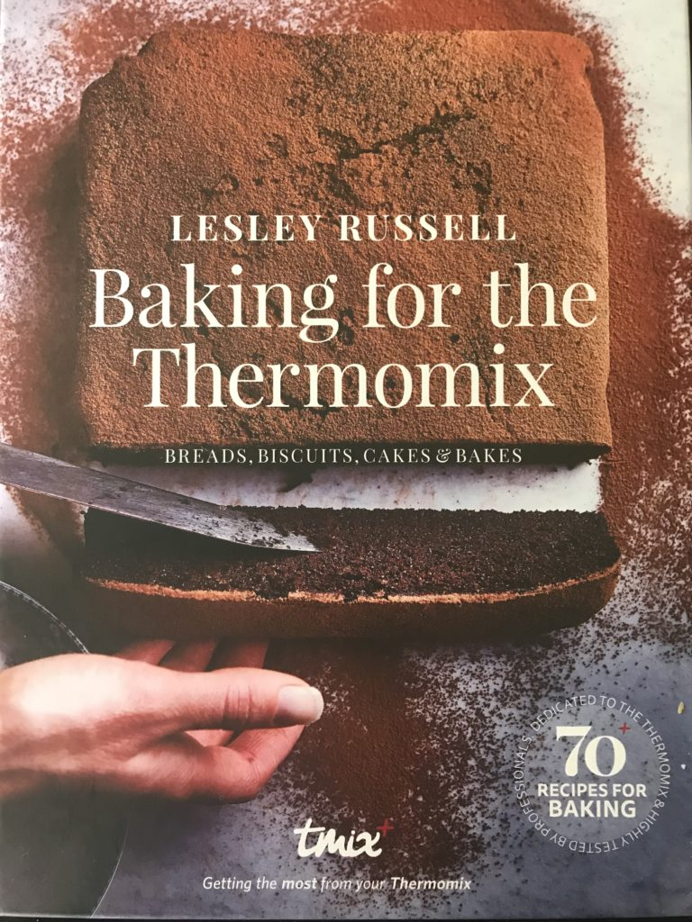new cookbook baking for the thermomix