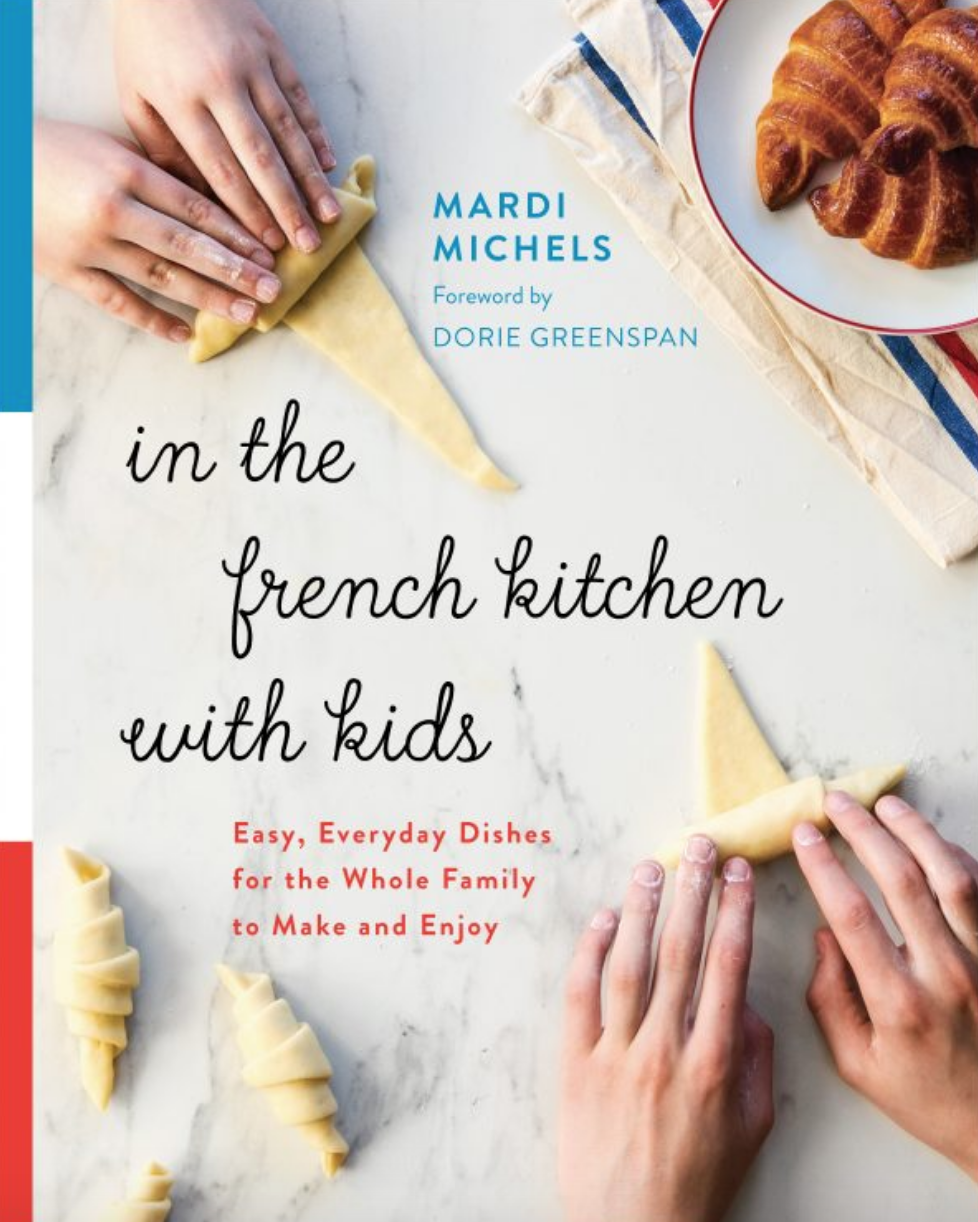 new cookbook - in the french kitchen with kids
