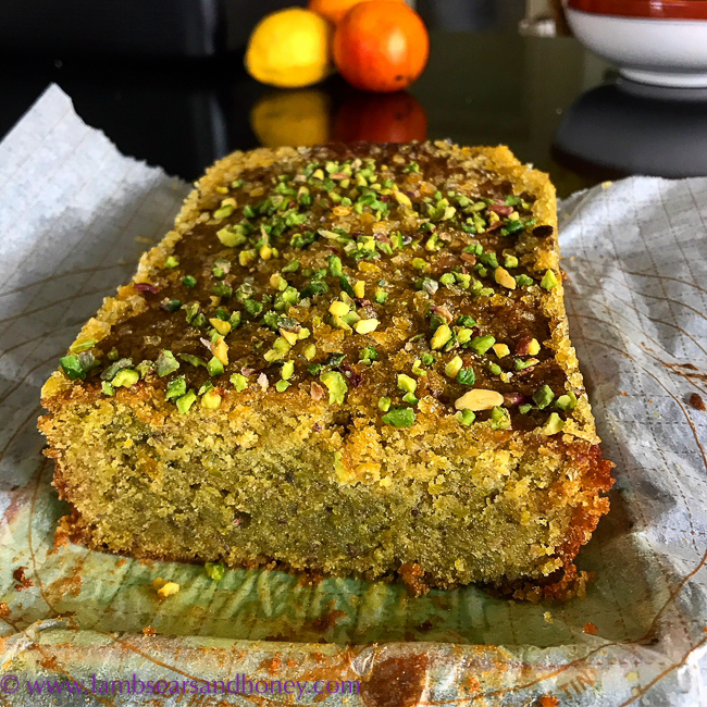 Baking for the Thermomix cookbook - lime cake
