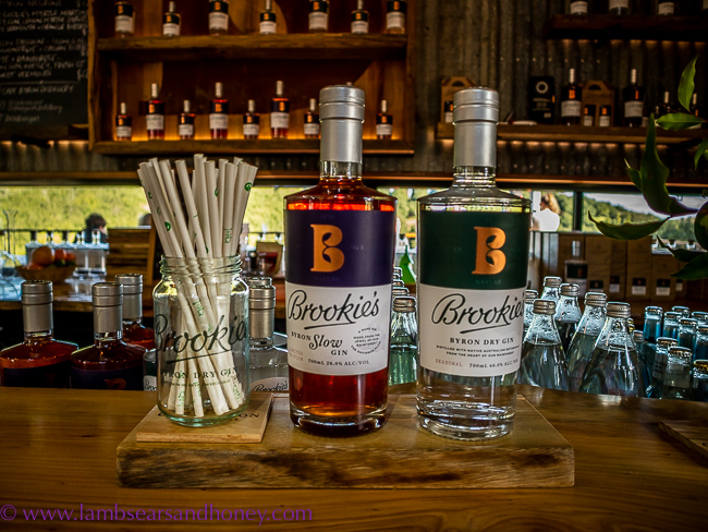 brookie's gin at Cape Byron Distillery,