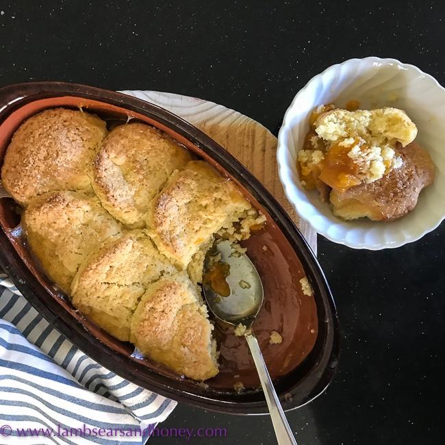 Apricot Cobbler from annabel crabb cookbook