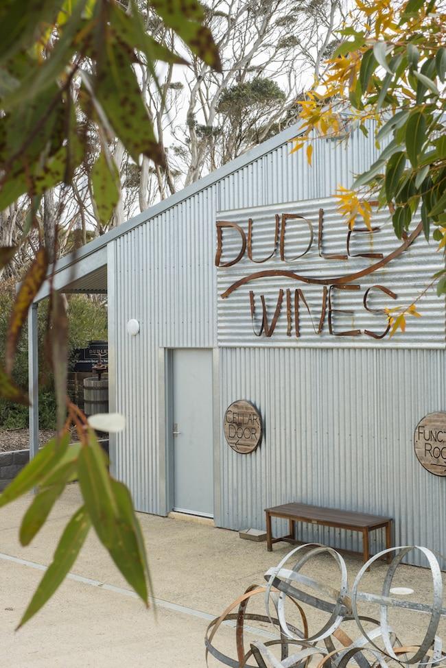kangaroo island food, dudley wines cellar door