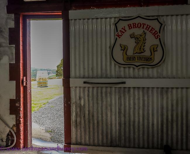 Doorway, kay brothers wines