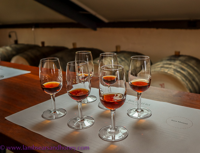 tastings of kay brothers wines fortified range