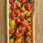 Easy Cherry Tomato and Thyme Tart