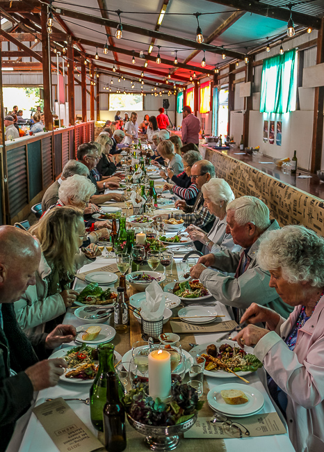 Long table lunch, Tasting australia at Mt Pleasant