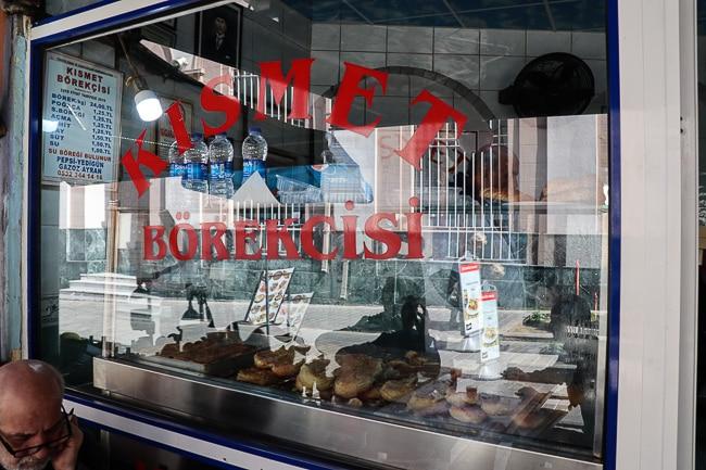 Borek shop, Culinary Backstreets Istanbul