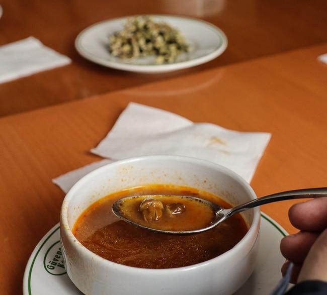 Baby Okra soup - Culinary Backstreets Istanbul