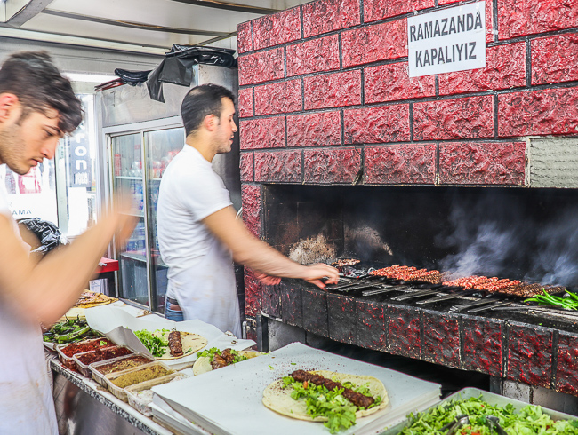 Meat Kebabs, Culinary Backstreets Istanbul