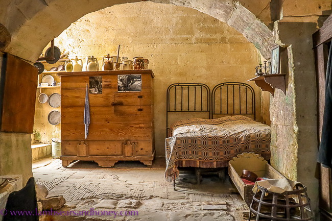 matera traditional bedroom